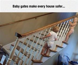 baby gates funny picture