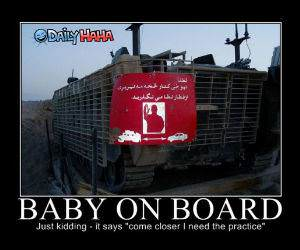 Baby On Board funny picture