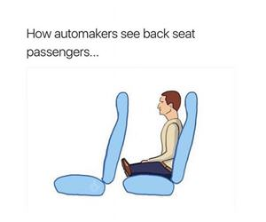 back seats of cars funny picture
