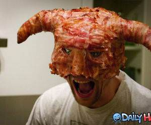 Bacon Mask funny picture