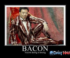 Bacon Suit funny picture