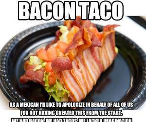 Bacon Taco funny picture
