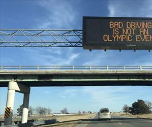 bad driving is not an olympic event