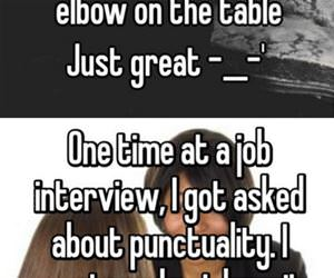 bad job interview experiences funny picture