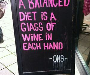 balanced diet funny picture