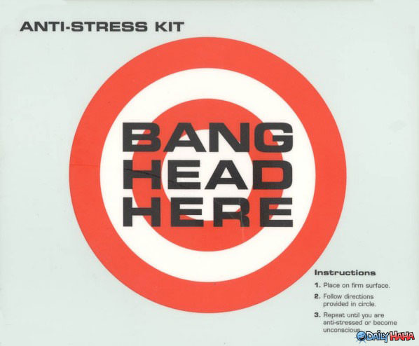 Anti-Stress Kit funny picture