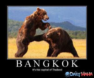 Bangkok funny picture