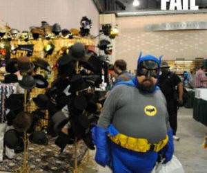 Batman Fail funny picture
