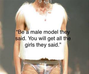 be a male model funny picture