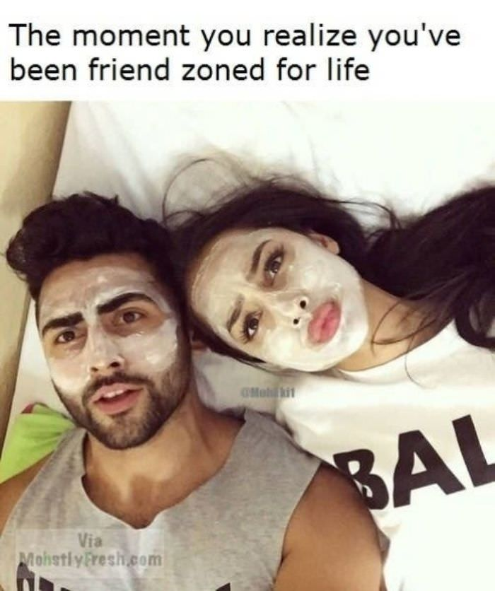been friend zoned funny picture