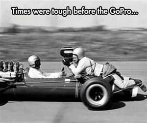 before gopro funny picture