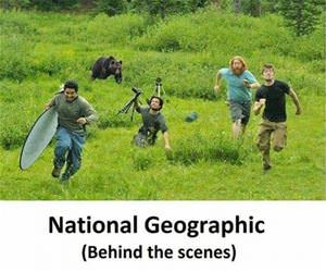 behind the scenes funny picture