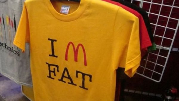 McDonalds Shirt funny picture