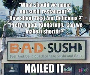 best and delicious sushi funny picture
