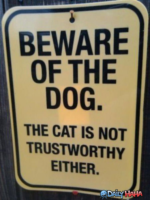 Beware of Dog funny picture