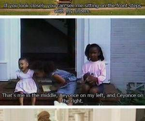 Beyonces Terrifying Past funny picture