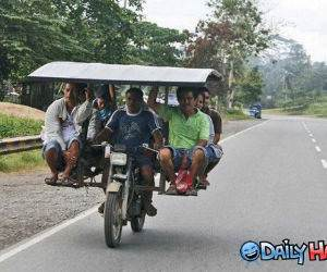 Bike Taxi funny picture