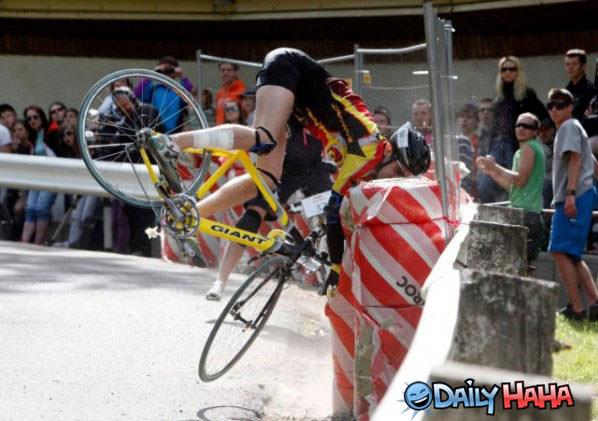 Biker Fail funny picture