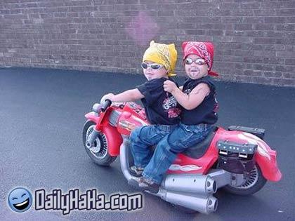 funny motorcycle gang pics  Biker Gang