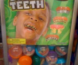 Bling Teeth funny picture