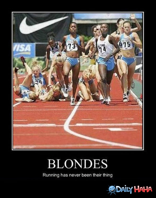 Blondes funny picture