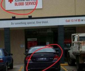 Blood Service funny picture