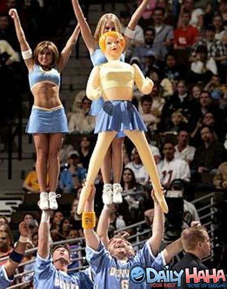 Blow Up Cheerleader
