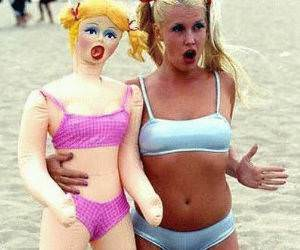 Blow up Doll Twins