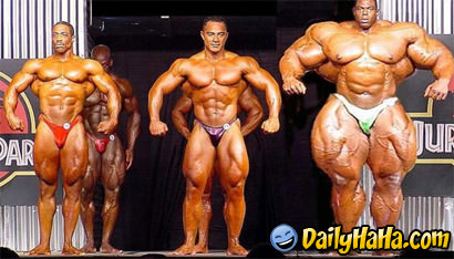Roid monkeys bodybuilder freak show. thumbnail