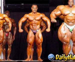 That must have taken a lot of steroids!