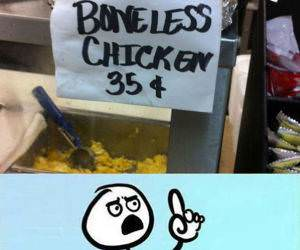 Boneless Chicken funny picture