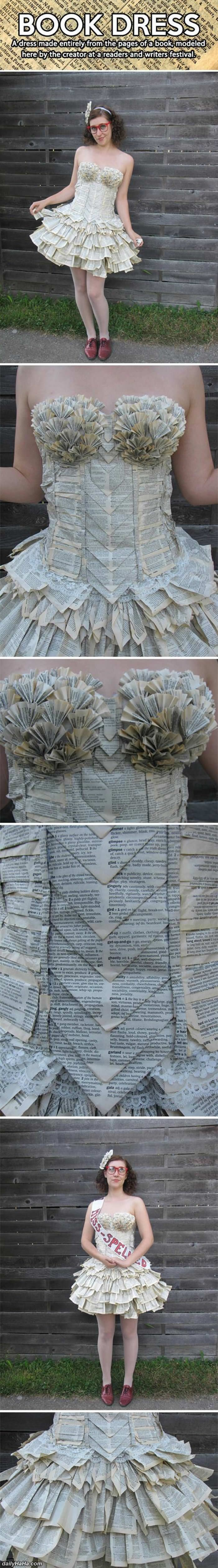 book dress funny picture