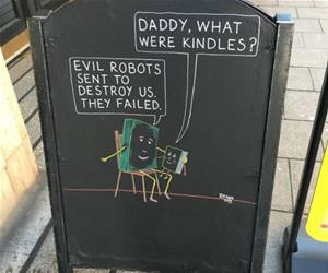 book store sign funny picture