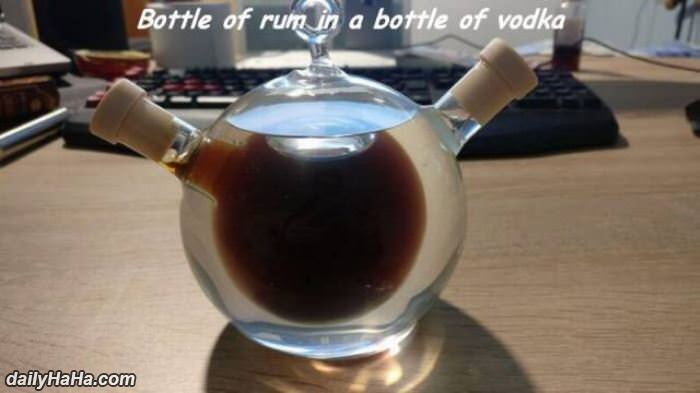 of bottle of vodka funny picture