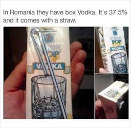 boxed vodka looks very refreshing