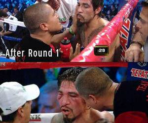 Boxing Face funny picture