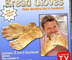 Bread Gloves funny picture