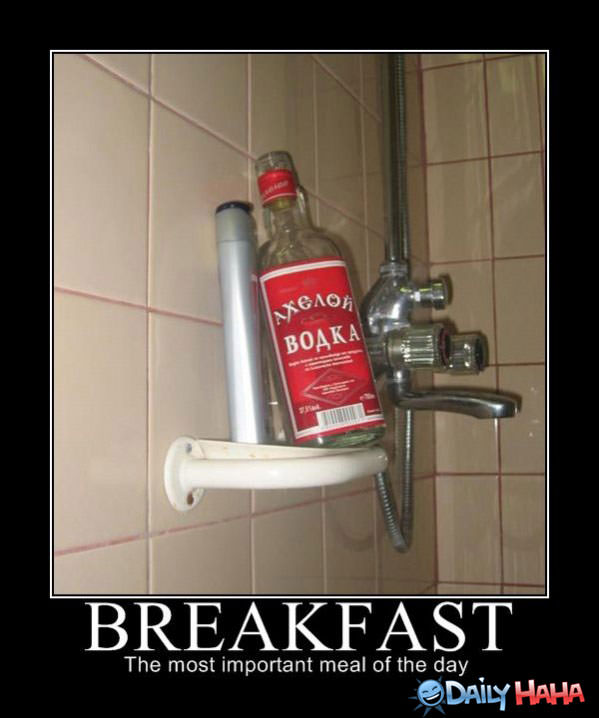 Breakfast funny picture