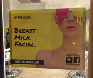 breast milk facial funny picture