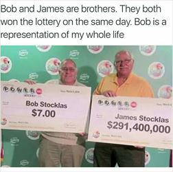 brothers won the lotto