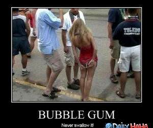 Bubble Gum funny picture