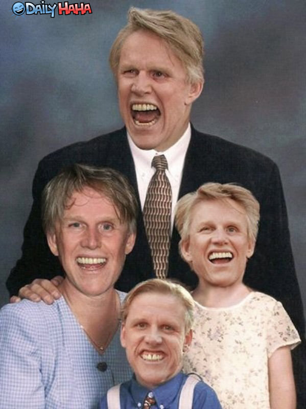 Busey Family Portrait