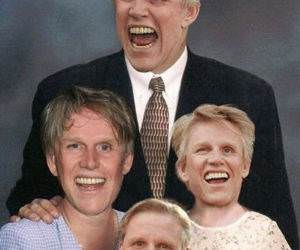 Busey Family Portrait funny picture