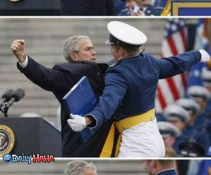 Bush Chest Bump