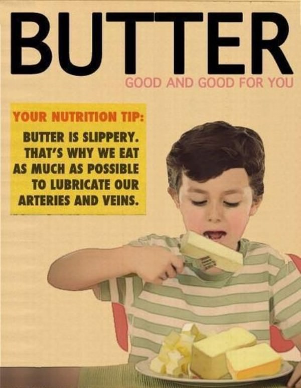 Slippery Butter funny picture
