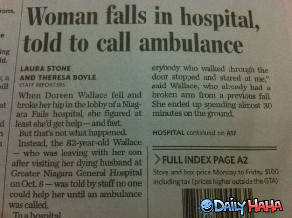 Ambulance Funny Picture