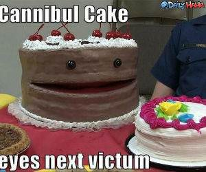 Cannibul Cake funny picture