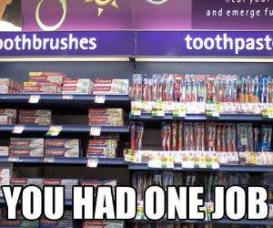 One Job funny picture