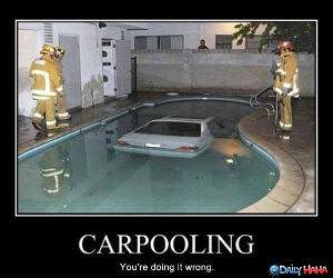 Car Pooling funny picture