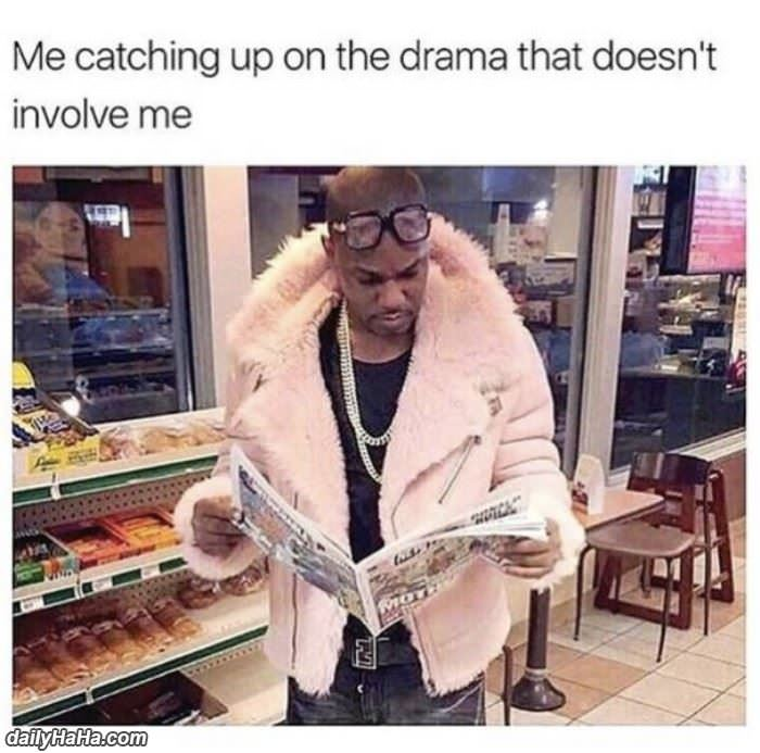 catching up on drama funny picture